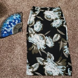 Who What Wear Skirts - Who what wear floral pencil skirt